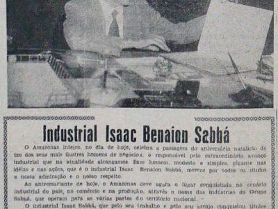 Aniversário de Isaac Benaion Sabbá