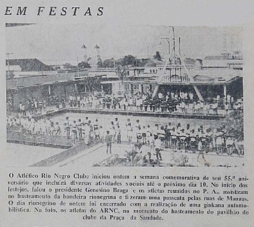 Celebração dos 55 anos do Atlético Rio Negro Clube