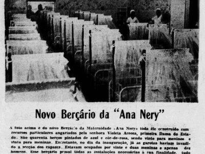 Inauguração do Novo Berçário da Maternidade Ana Nery
