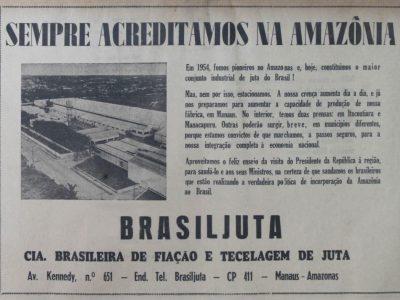 Brasiljuta e as Boas-Vindas ao Presidente Costa e Silva
