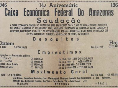 Caixa Comemora 14 anos no Amazonas