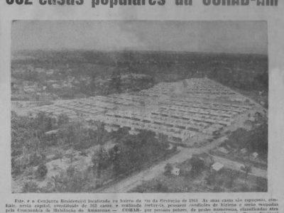 As Casas Populares da COHAB-AM