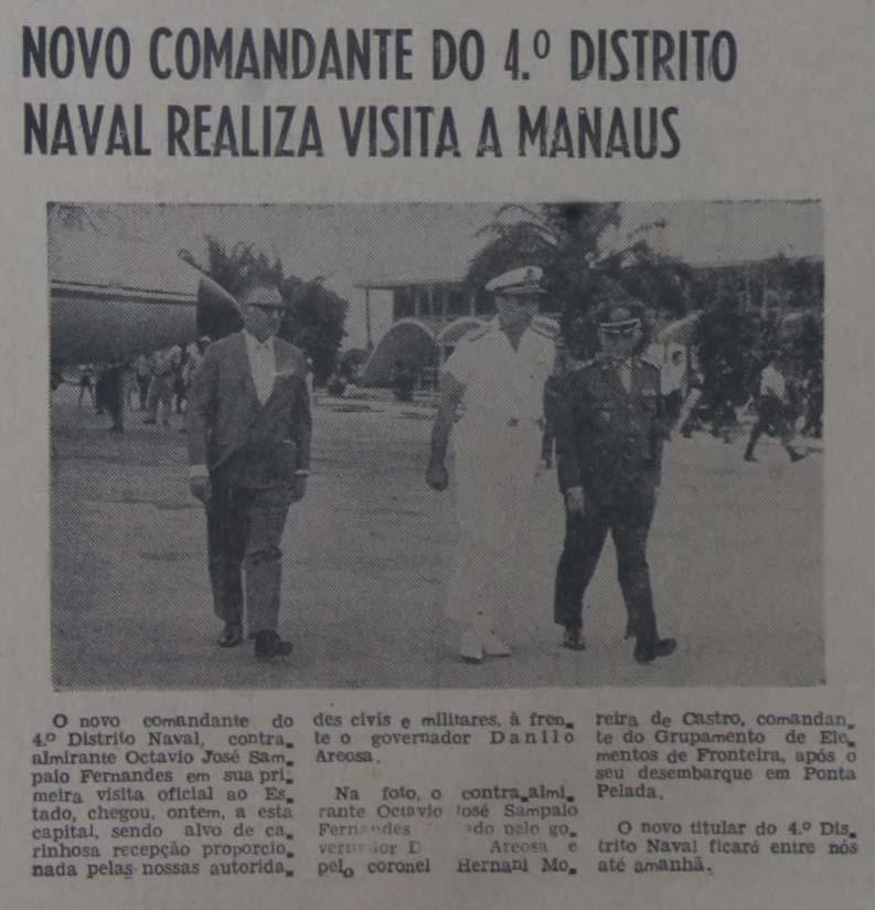 Visita do Comandante do 4º Distrito Naval