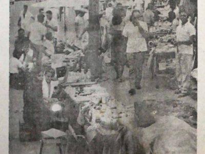 Comércio proibido em Manaus: marreteiros