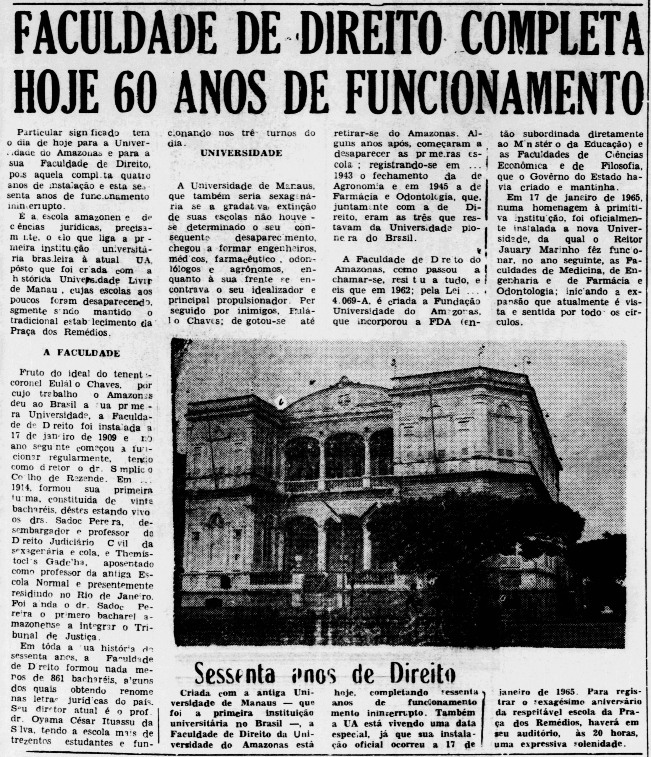 Instituto Durango Duarte - Faculdade de Direito