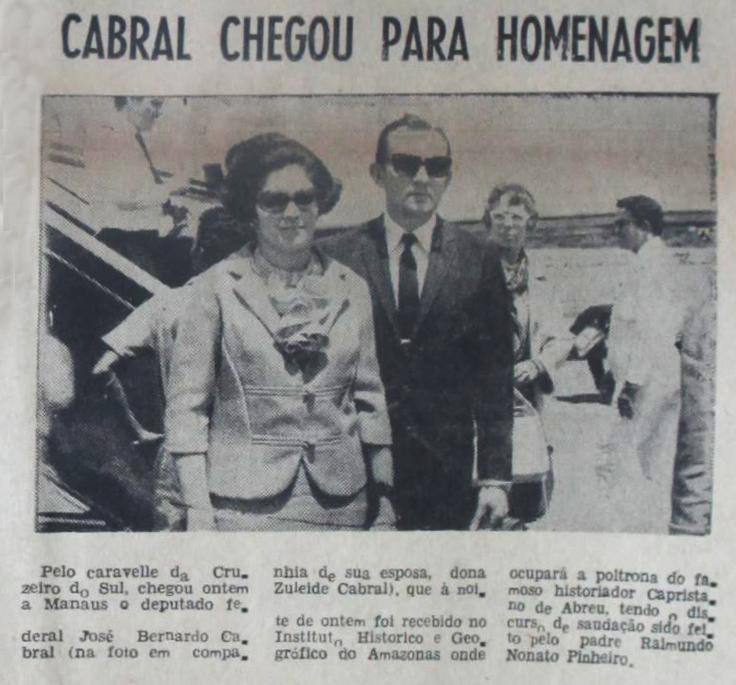 Homenagem do IGHA a José Bernardo Cabral
