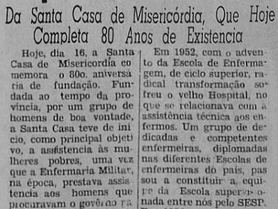 Santa Casa de Misericórdia: O Hospital Escola do Amazonas