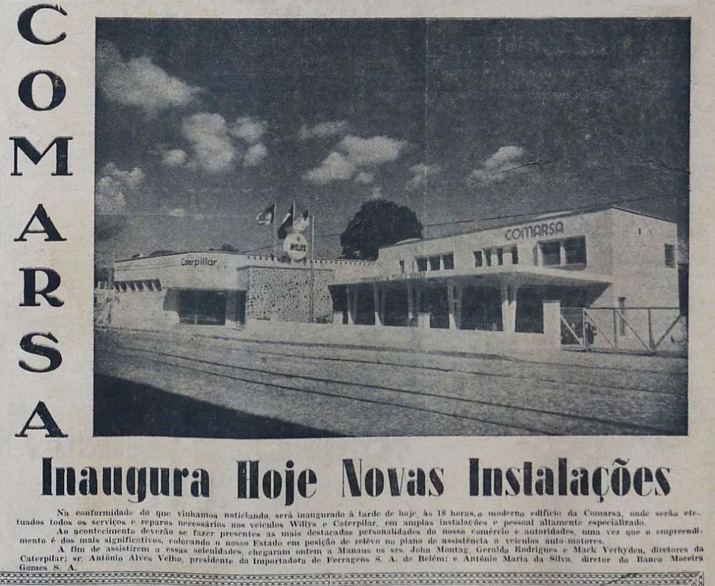 Inauguração da Comarsa em Manaus