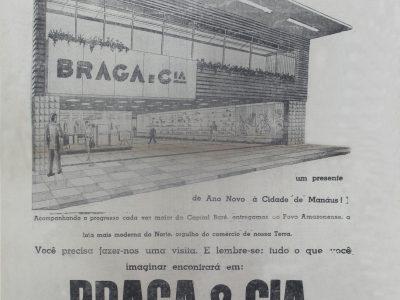 Inauguração da Loja Braga e Cia