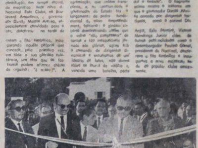 Inauguração da Sede do Fast Clube