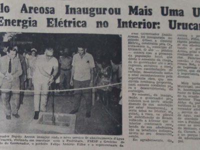 Inauguração da Usina Elétrica de Urucará