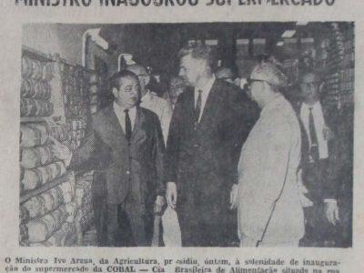 Inauguração do Supermercado da Cobal