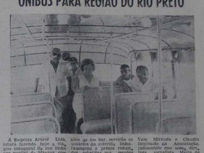 Linha de ônibus entre Manaus e Rio Preto