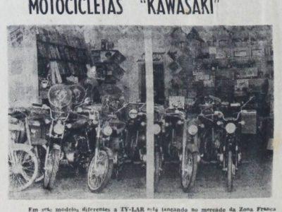 Lojas TV Lar e as Motos Kawasaki