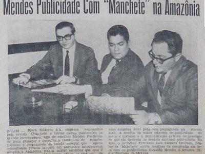 Mendes Publicidade e a Revista Manchete