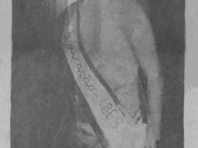 Marciléia Carvalho, a Miss Educação 1968
