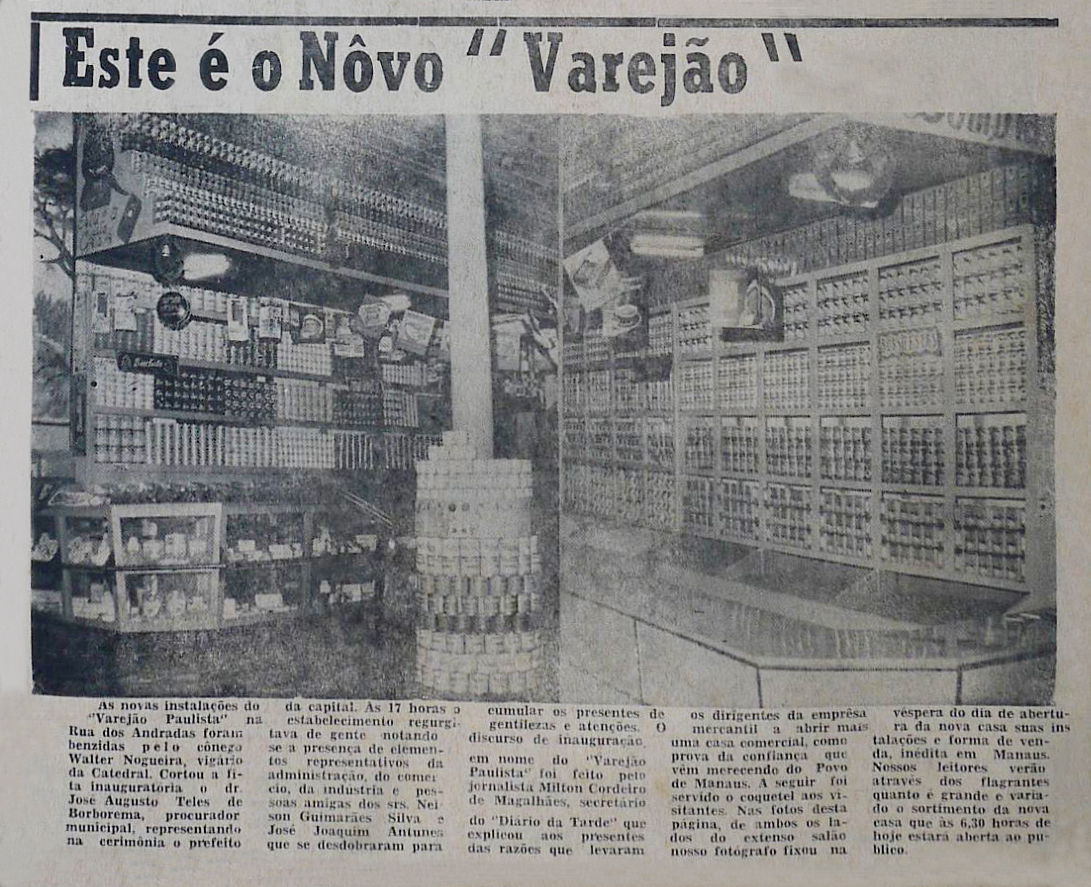 Inauguração do Varejão Paulista