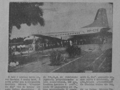 Lançamento do Novo Avião da Cruzeiro do Sul