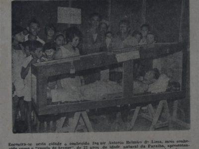 Apresentação do Faquir em Manaus