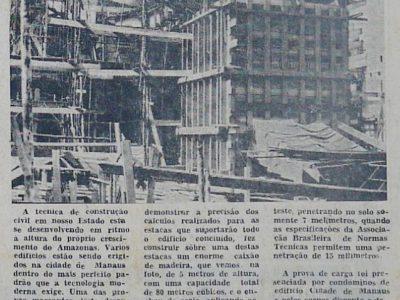 A Evolução da Construção Civil no Amazonas
