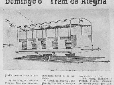 O Trem da Alegria de Manaus