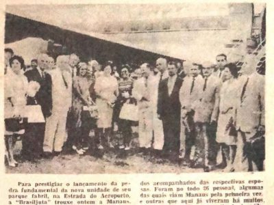 Inauguração do Parque Industrial da Brasiljuta