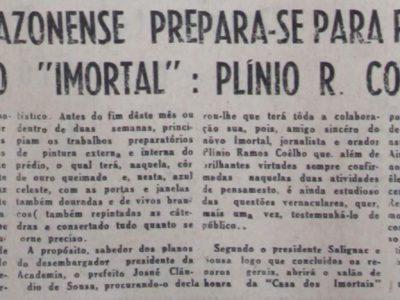 O novo Imortal da Academia Amazonense de Letras