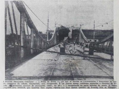 Recuperação da Ponte Benjamin Constant no Centro