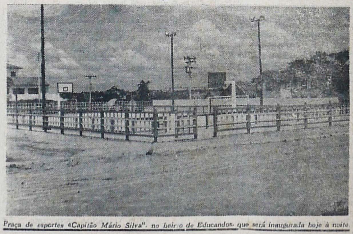 Inauguração da Praça de Esportes Capitão Mário Silva