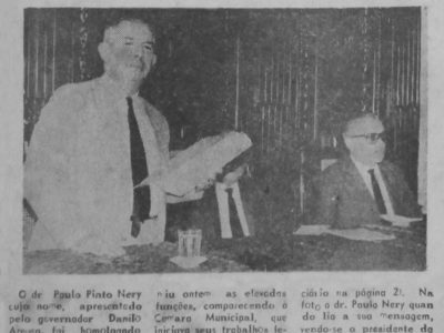 Paulo Pinto Nery, o novo Prefeito de Manaus