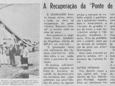 Recuperação da Ponte Benjamin Constant