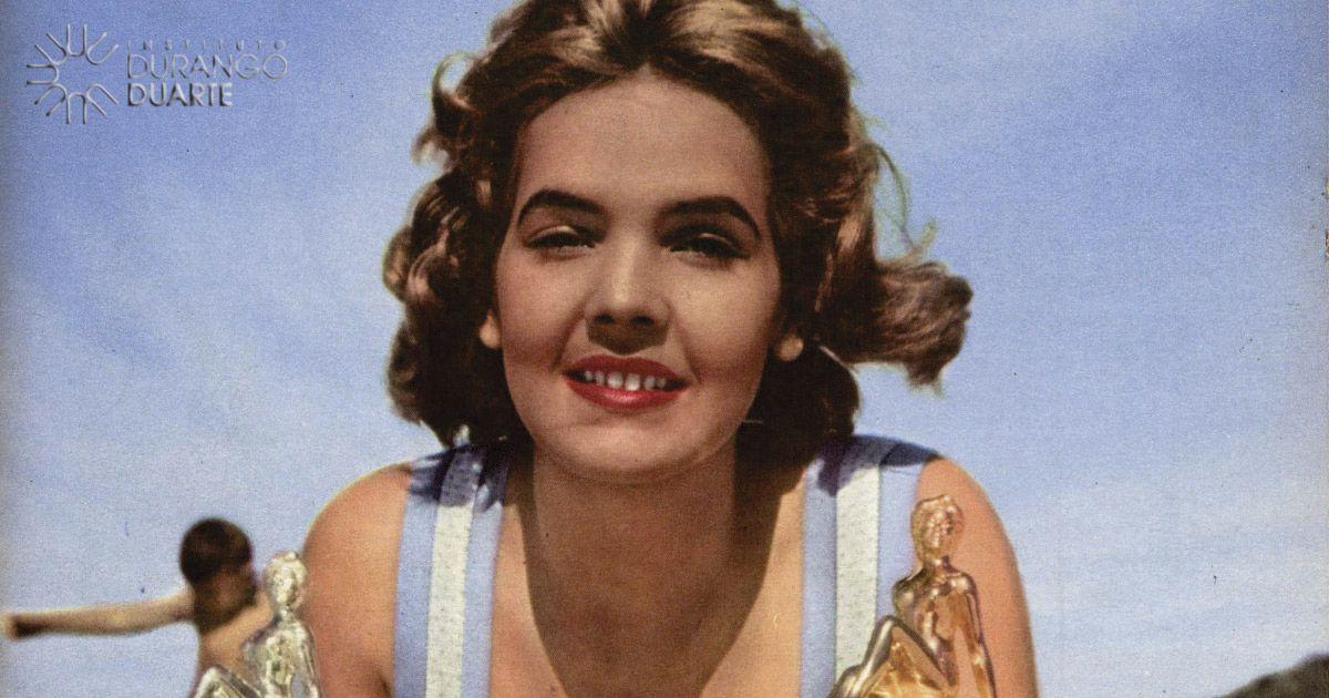 Amazonense Terezinha Morango Miss Brasil 1957