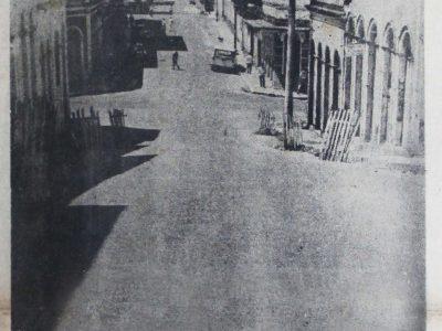 Asfaltamento da Rua Saldanha Marinho