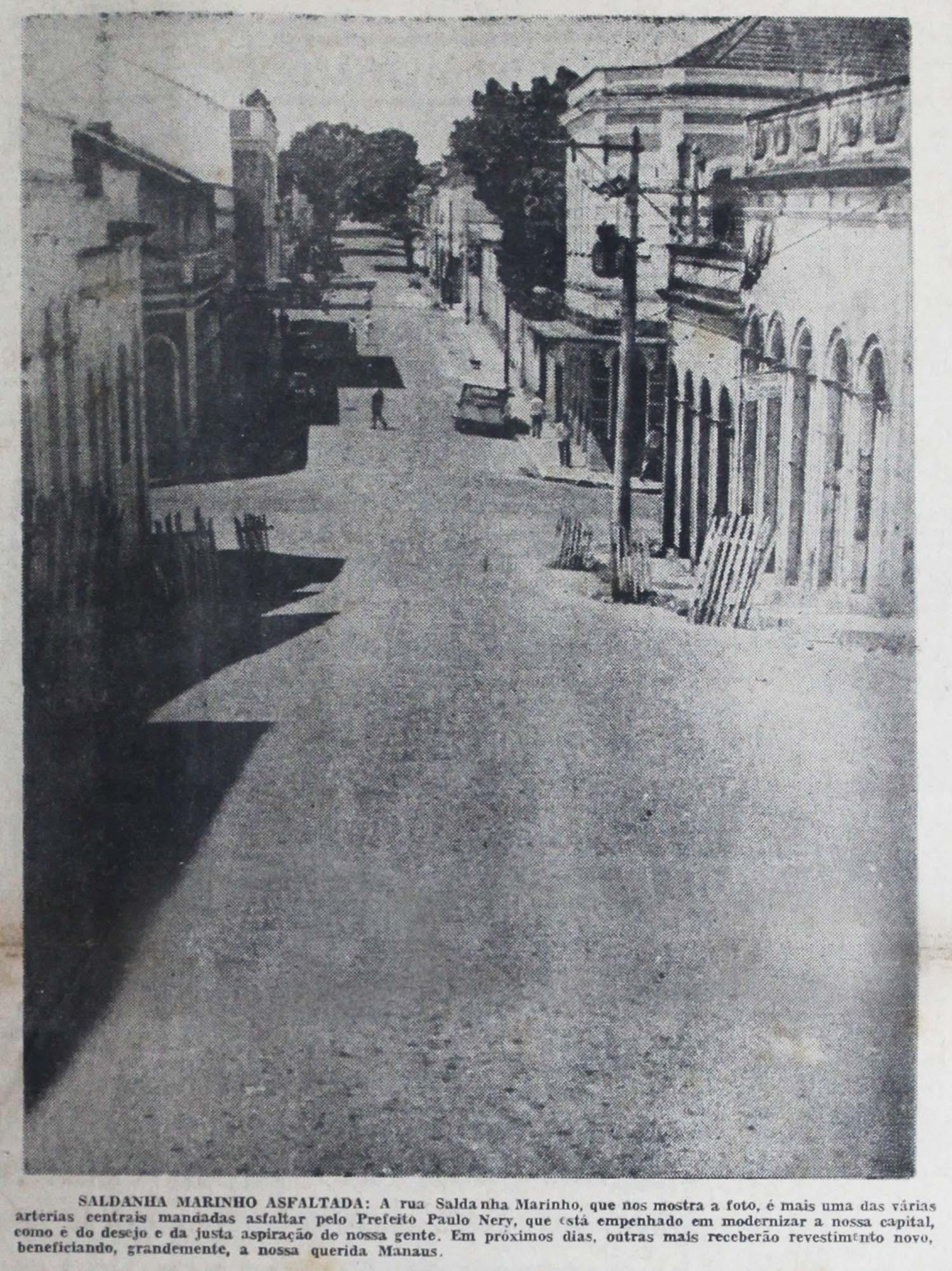 Imagem da Rua Saldanha Marinho - Instituto Durango Duarte