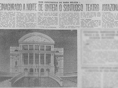 Reinauguração do Teatro Amazonas