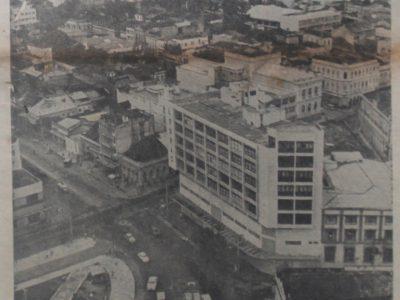 Vista aérea do centro da Cidade de Manaus