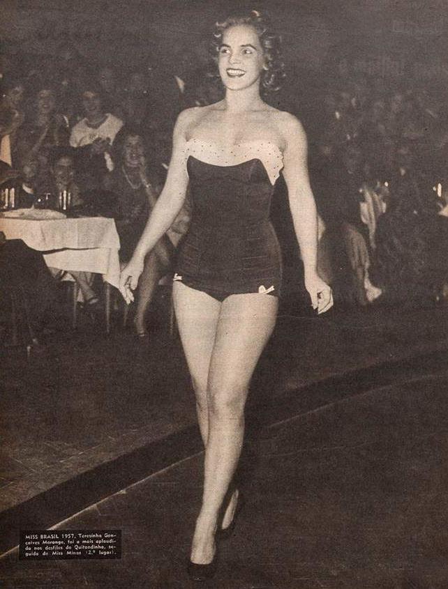 Revista O Cruzeiro 1957 - Miss Terezinha Morango